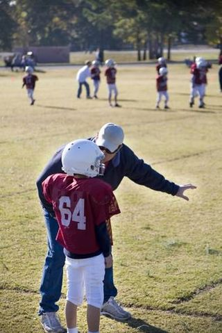 Coaching kid