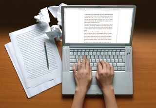 Author laptop image