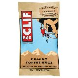Peanut toffee clif bar